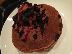 ラズベリーチョコレートパイ