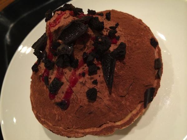 ラズベリーチョコレートパイ アップ写真