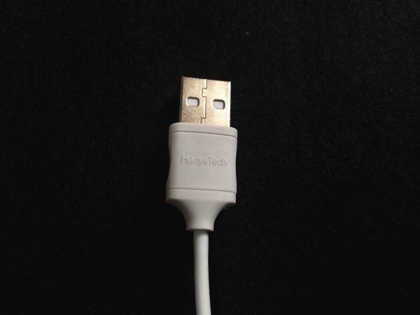 USB端子のアップ