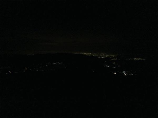 七合目からの夜景