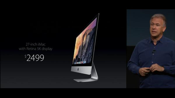 iMacの新しいやつ