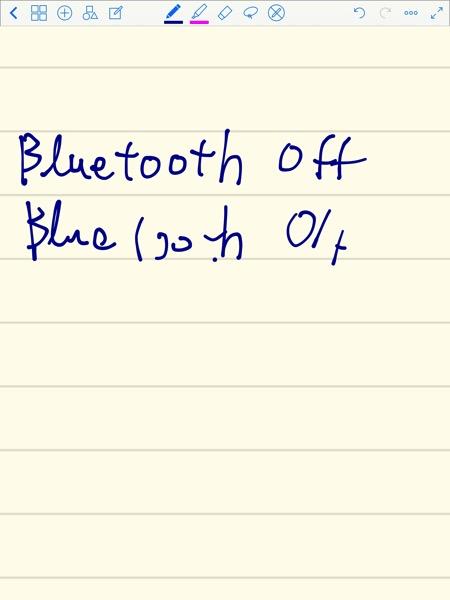 Bluetooth接続した時としない時との比較