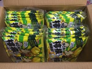 次回販売開始が2015年3月な早乙女檸檬の挑戦状を40袋買いました