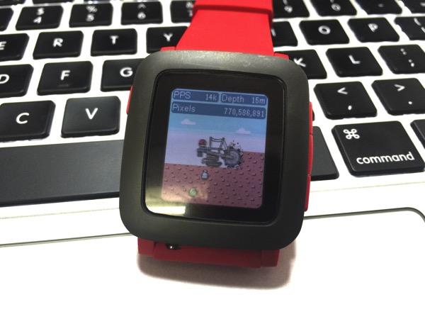 pixelminerのメイン画面