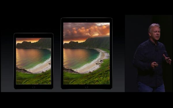 iPadProとiPadAir2との比較
