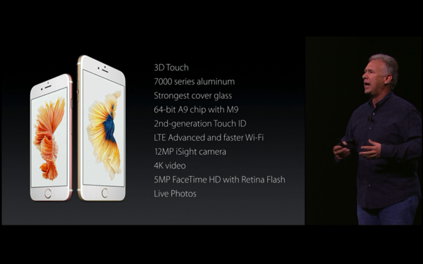 iPhone6sの説明