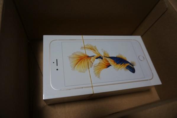iPhone6splusが届いた