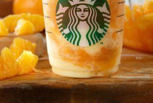 スタバのクラッシュ オレンジ フラペチーノがとっても美味しくなるカスタマイズ集!