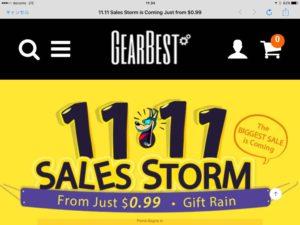 [少しだけPR]GearBestっていう通販サイトがあるけど実際どうなんだろうか。