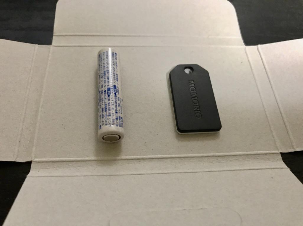 単四電池と比較