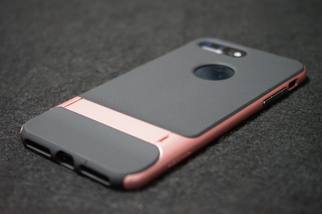 iPhoneケースの背面