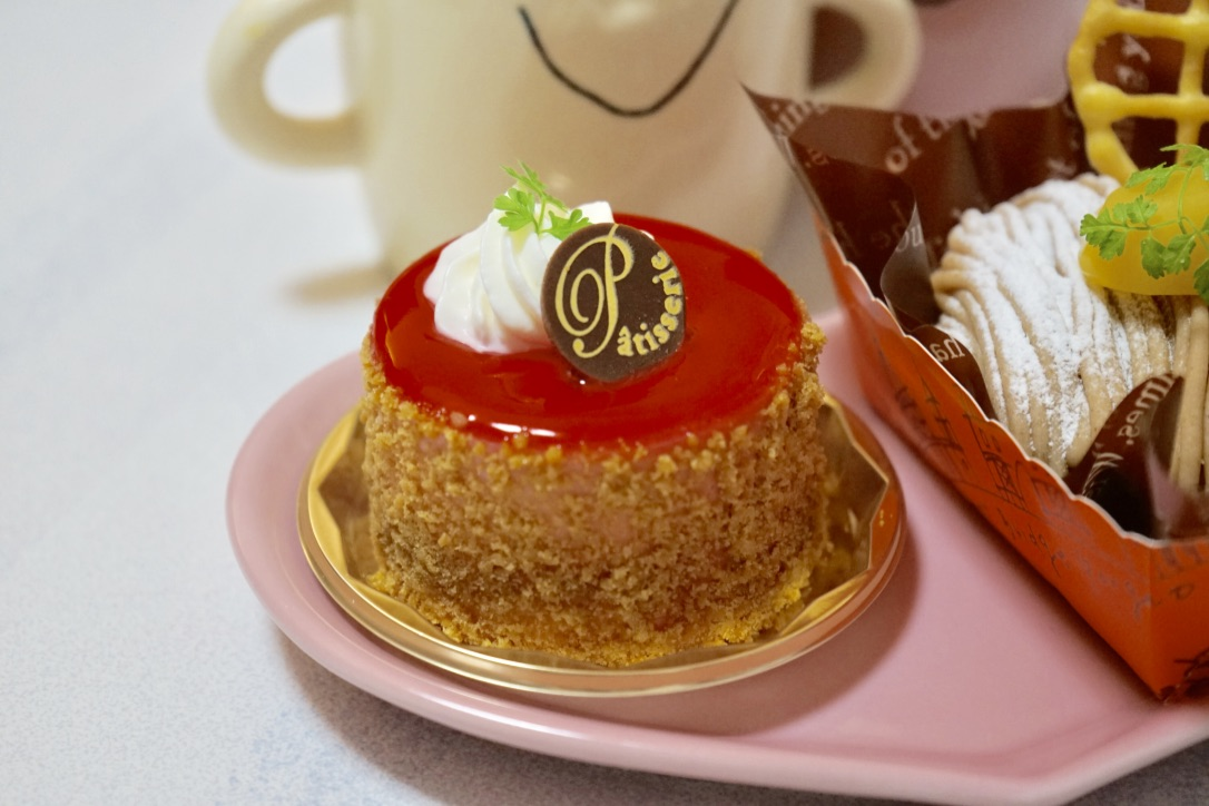 木苺チーズケーキ