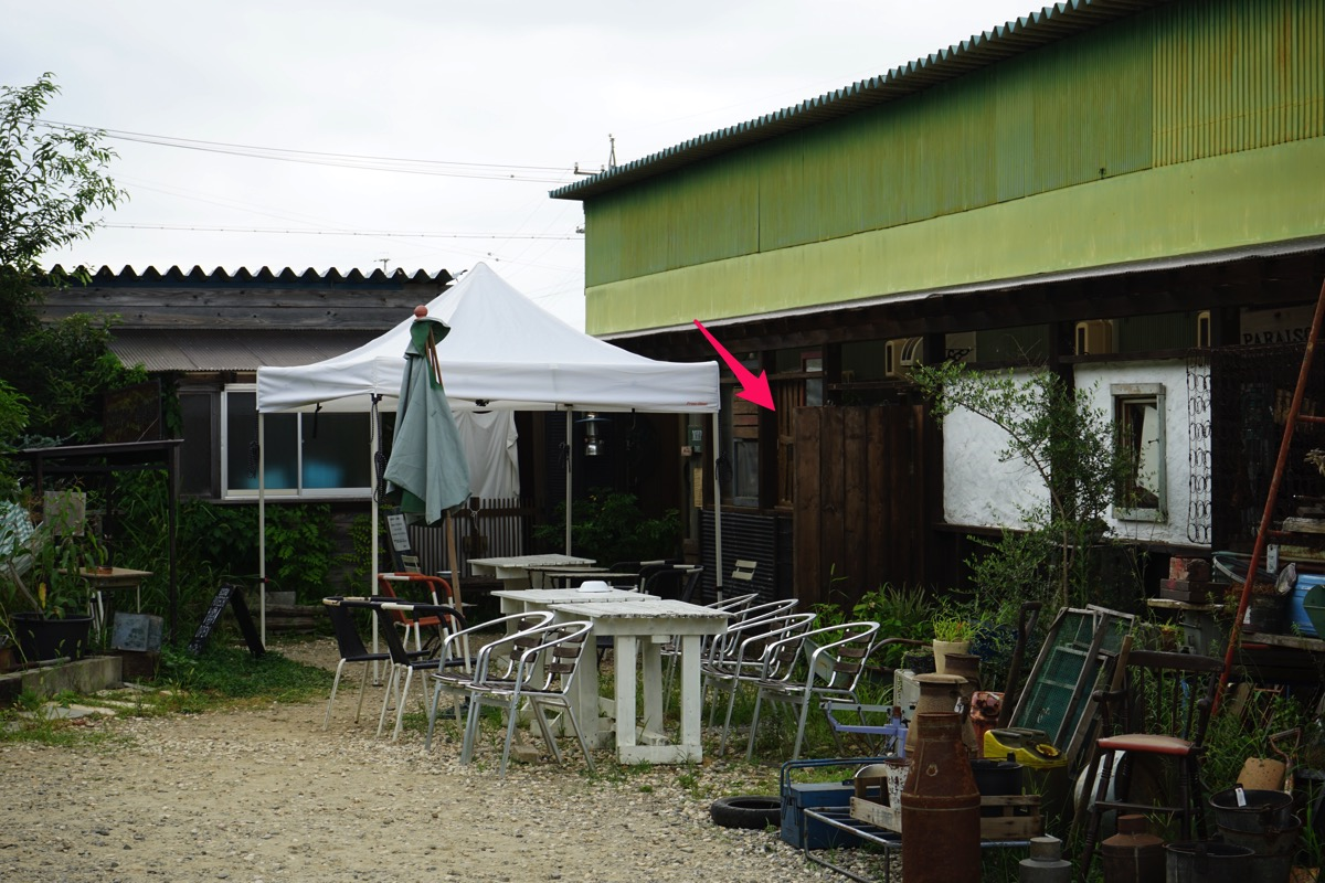 カフェの場所