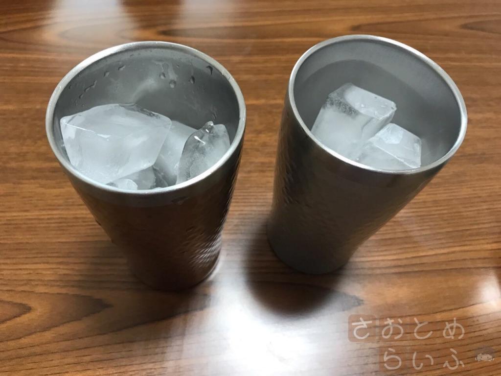 氷をセット