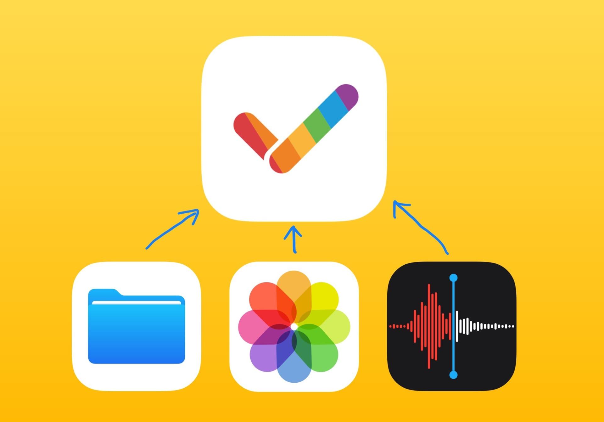 GoodTaskで画像や音声やファイルがタスクに添付できるようになりました。