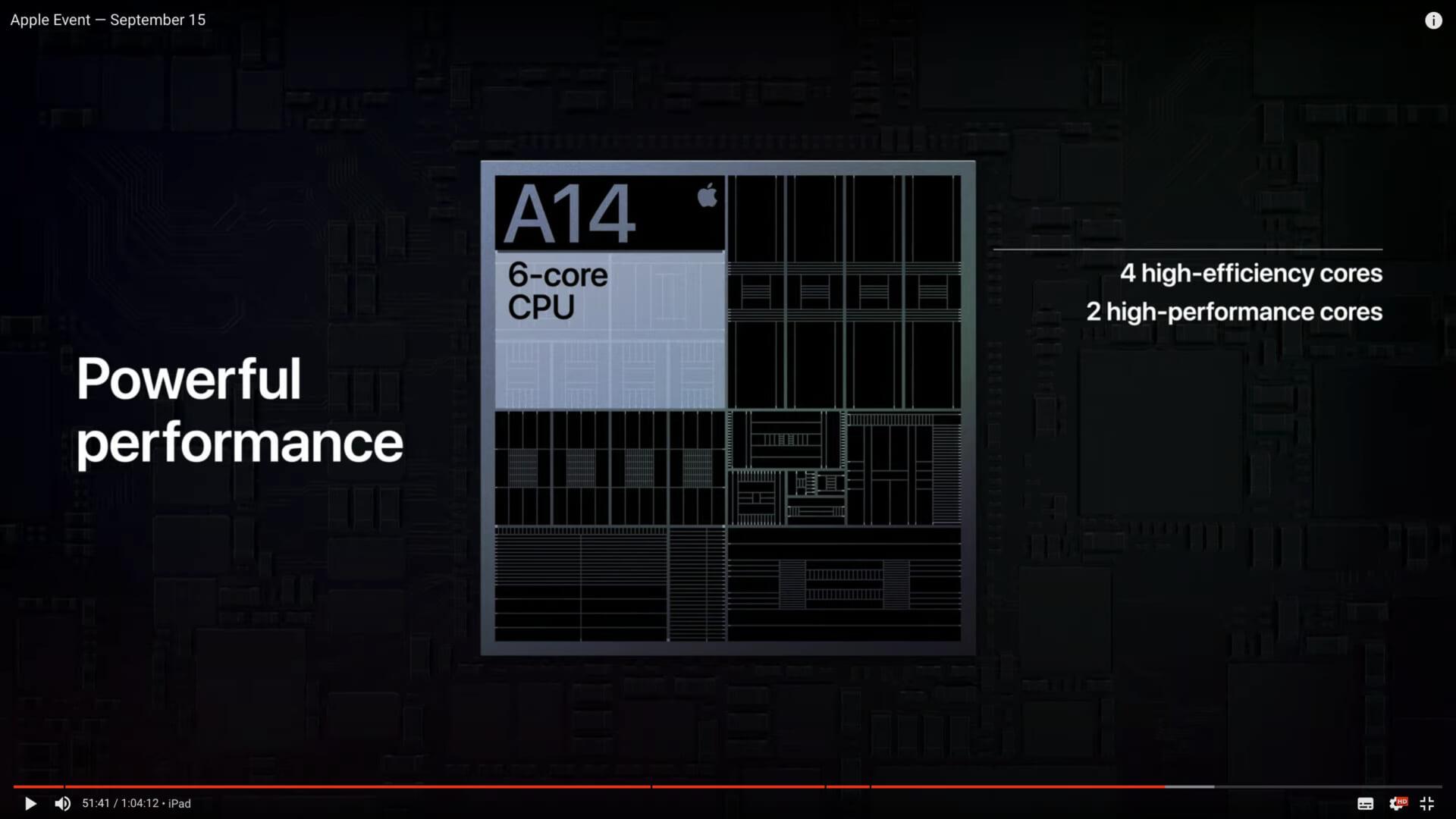 Appleの発表を見て、A14Xについて予想を立ててみました