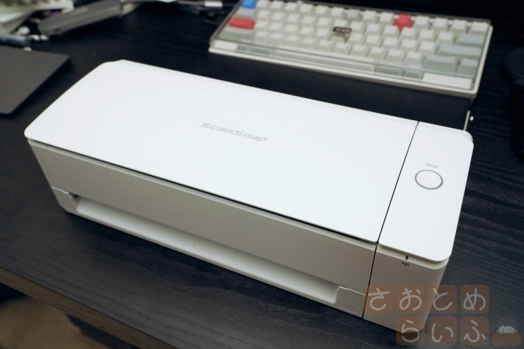 ScanSnap iX1300の全体像