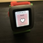 Pebble Timeがfirmware v3.8からHealthを導入した