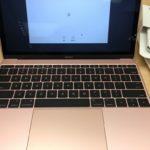 MacBookProを手放して、AppleStore銀座で新型Macbookのローズゴールドを買った