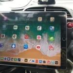 マグネット式車載ホルダーでiPad Pro 12.9をホンダ フィットに車載してみた
