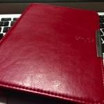 [1980円]Kindle Paperwhiteの赤いカバーが届いた!
