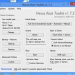 コマンド不要の簡単ツール!Wug's Nexus Root Toolkit でNexus7(2013)をroot化した