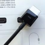 Lightning Digital AVアダプタと1番相性の良いHDMIケーブルを購入した!