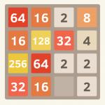 16・32・64などの数字をひたすら足すiPhone用パズルゲーム「2048」が面白い!